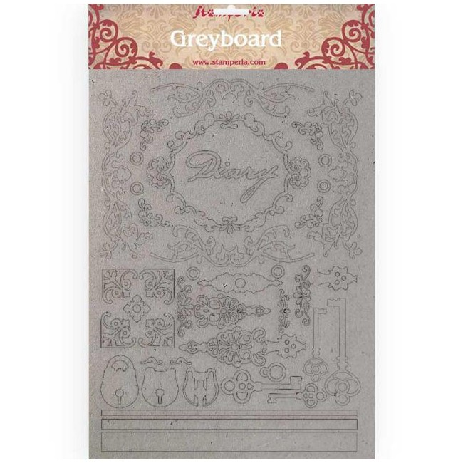 Chipboard Calligraphy Diary