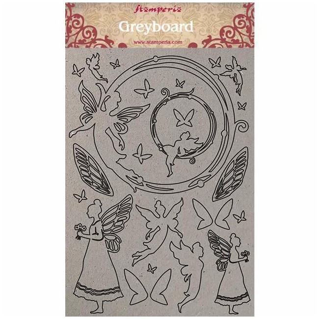 Chipboard Winter Tales Fairies