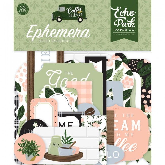 Die Cuts Coffee and Friends Icons