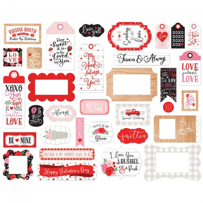 Die Cuts Cupid and Co Frames & Tags