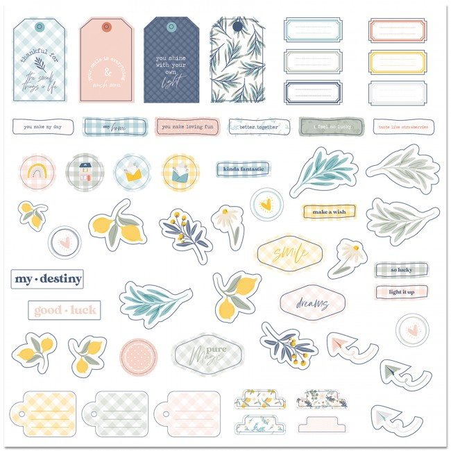 Die Cuts Picnic Words (English)