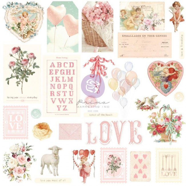 Die Cuts Magic Love By Frank Garcia Shapes Tags Words Foiled Accents