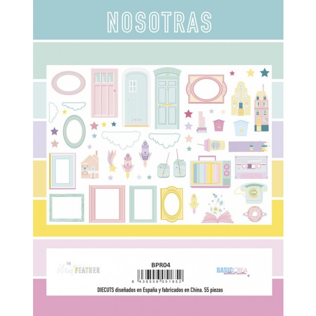 Die Cuts Nosotras The Mint Feather