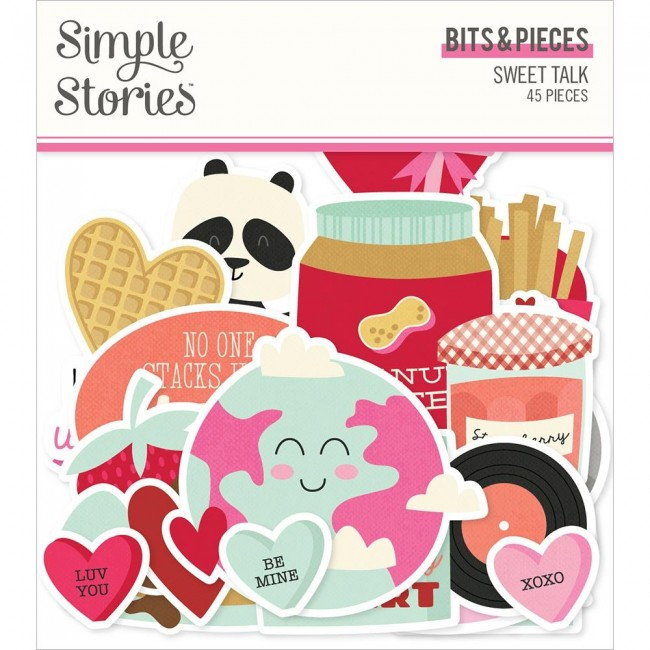 Die Cuts Sweet Talk Bits & Pieces