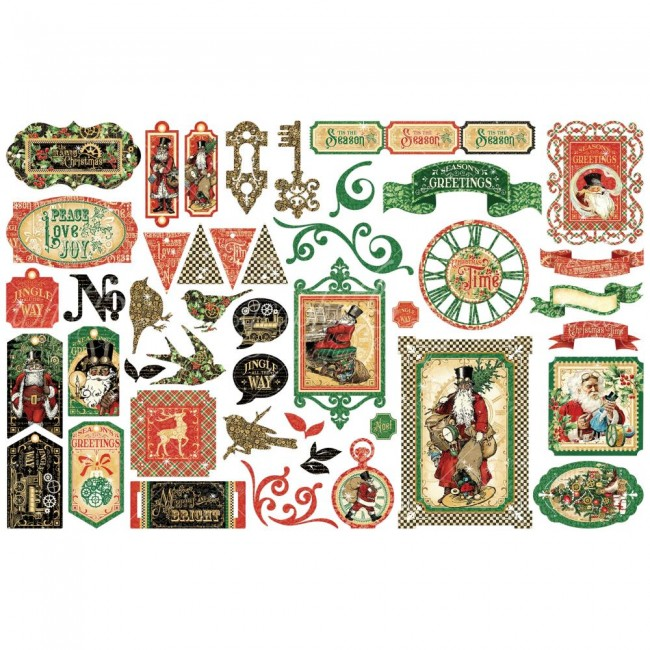 Die Cuts Christmas Time