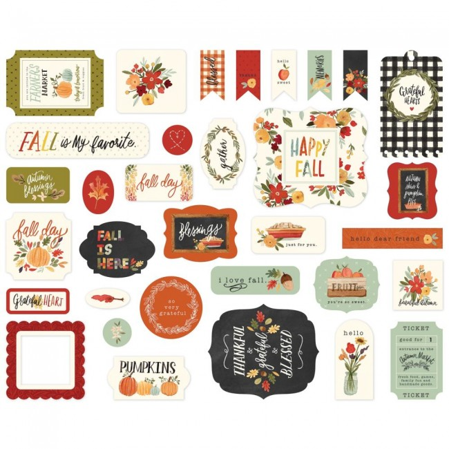 Die Cuts Hello Autumn Icons