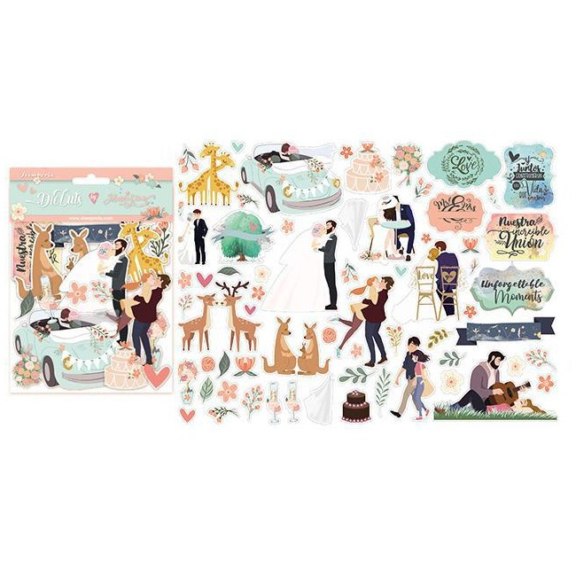 Die Cuts Love Story Johanna Rivero