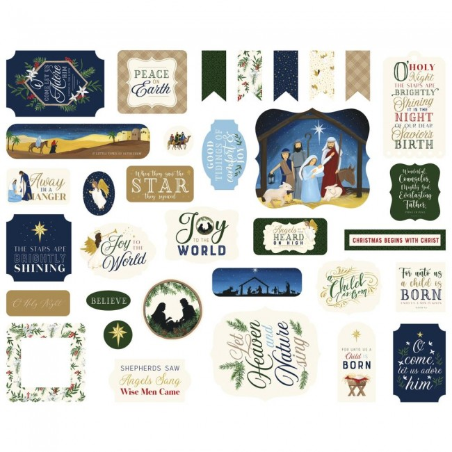 Die Cuts Silent Night Icons