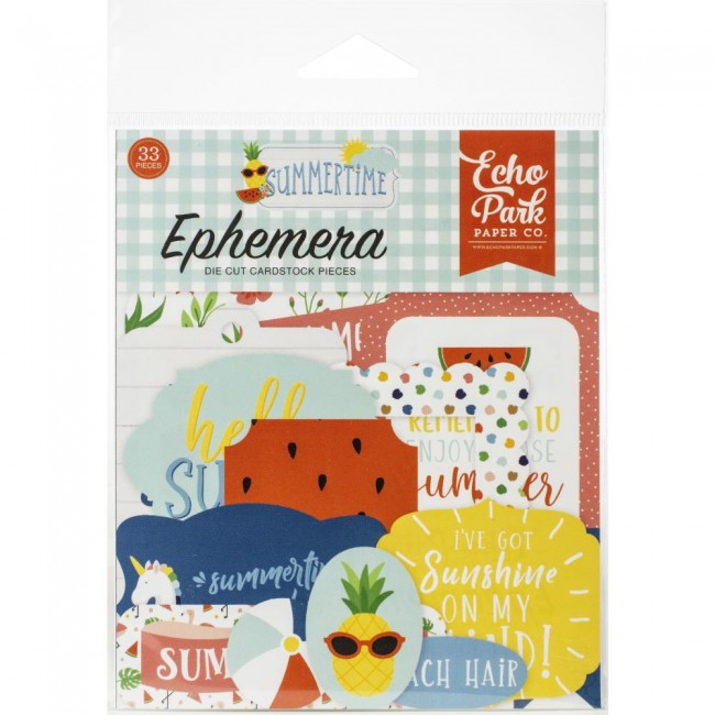 Die Cuts Summertime Icons