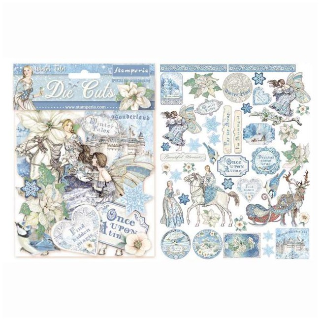 Die Cuts Winter Tales