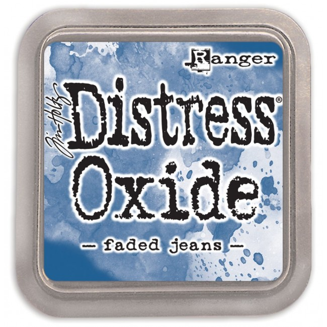 Tinta Distress Oxide Ink Faded Jeans
