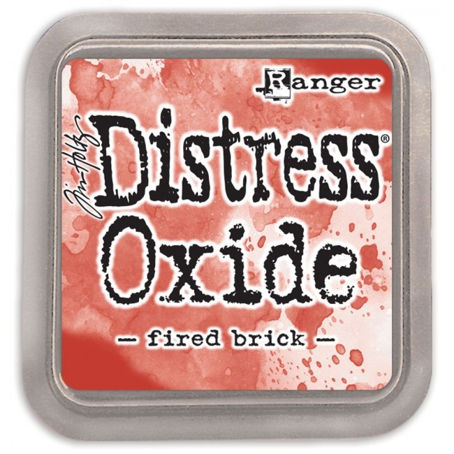 Tinta Distress Oxide Ink Fired Brick
