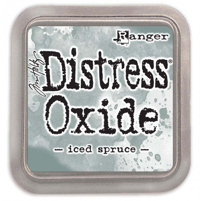 Tinta Distress Oxide Ink Iced Spruce