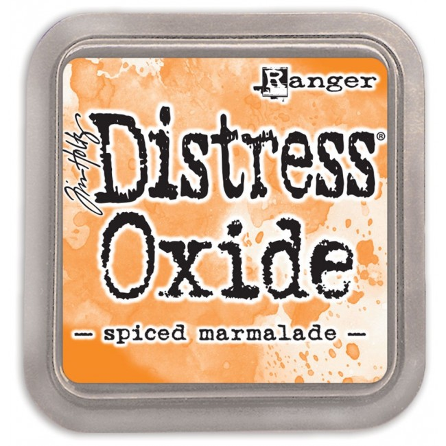 Tinta Distress Oxide Ink Spiced Marmalade
