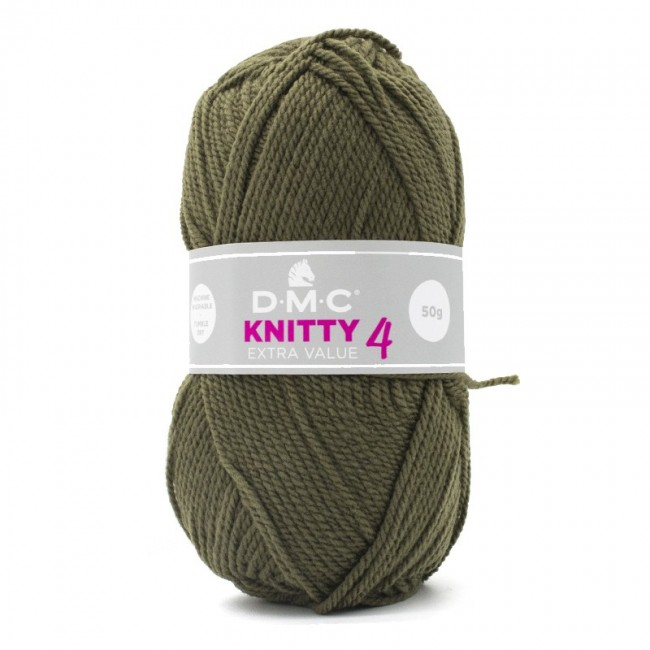 Lana acrílica DMC Knitty 4 Just Knitting 50 g 632