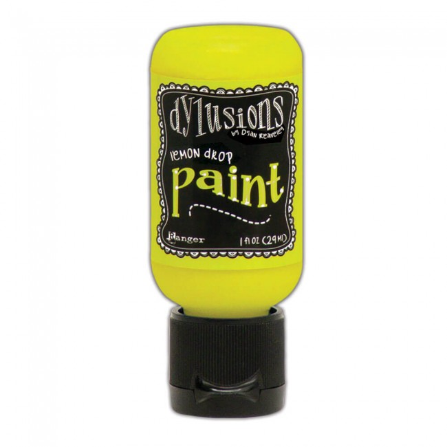 Pintura Acrílica Dylusions Mini 29ml Lemon Drop