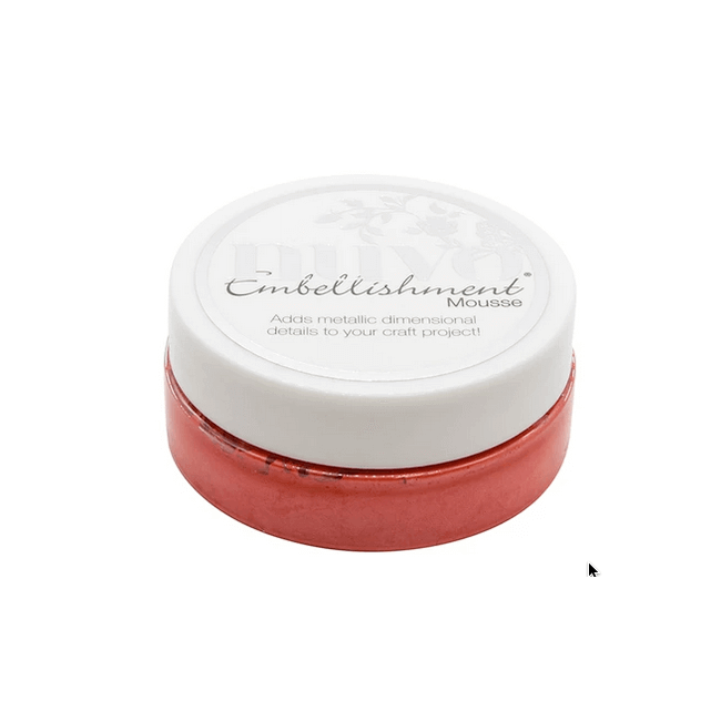 Embellishment Mousse de Nuvo Fusion Red