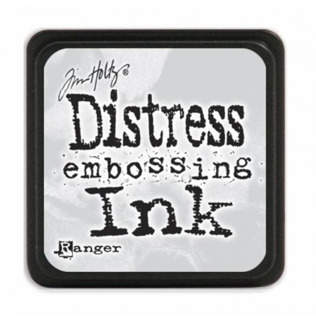 Tinta Mini Distress Ink Embossing Transparente