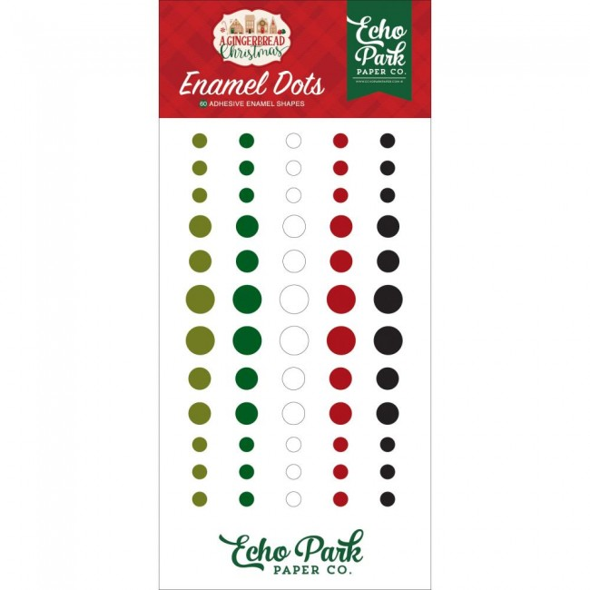 Enamel Dots A Gingerbread Christmas