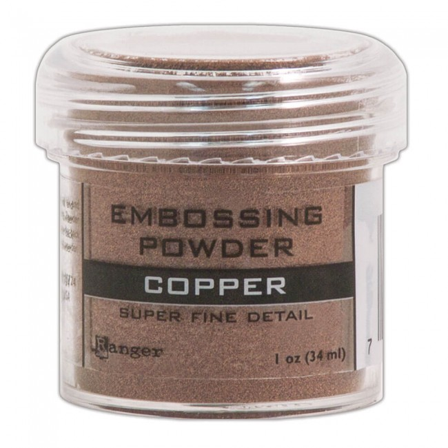 Polvos de Embossing Super Fine Copper