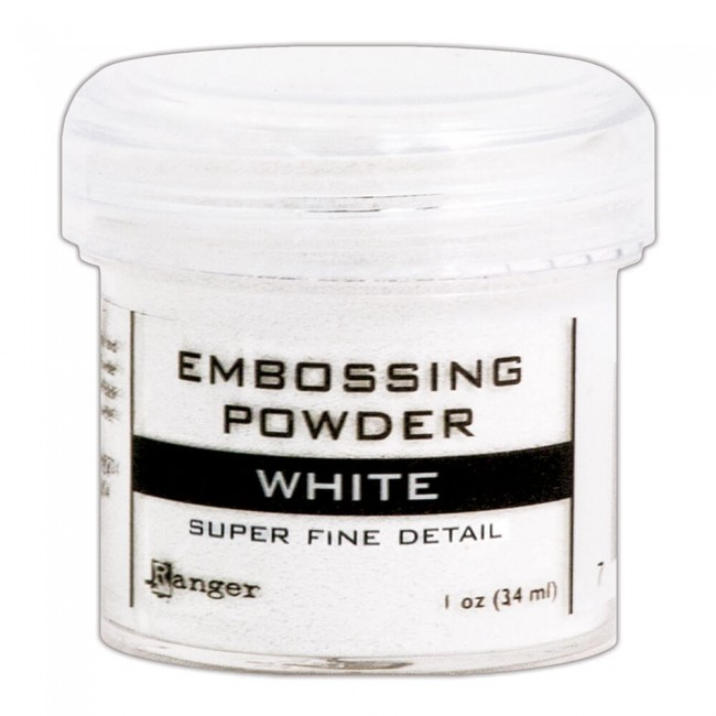 Polvos de Embossing Super Fine White