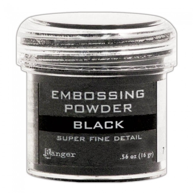 Polvos de Embossing Super Fine Black