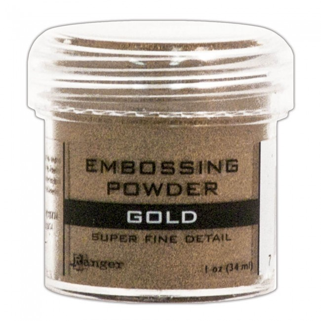 Polvos de Embossing Super Fine Gold