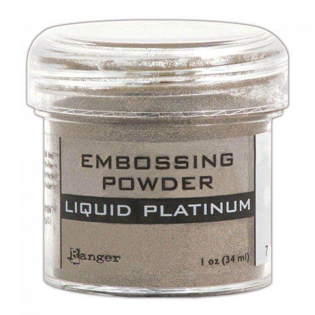 Polvos de Embossing Liquid Platinum
