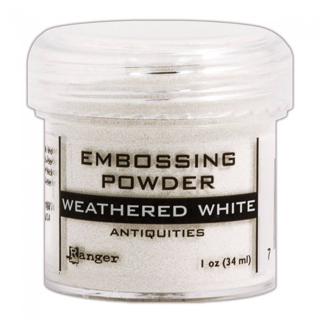 Polvos de Embossing Weathered White