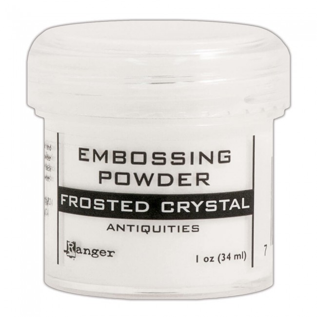 Polvos de Embossing Frosted Crystal