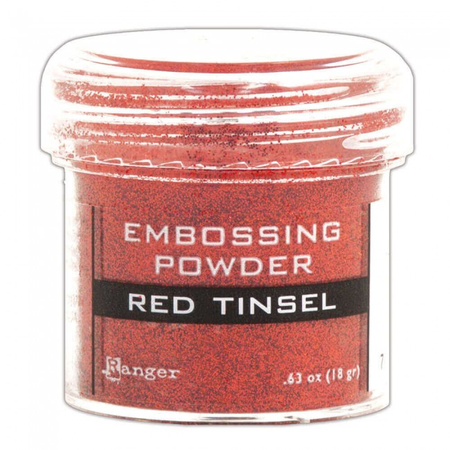 Polvos de Embossing Red Tinsel