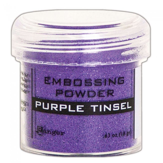 Polvos de Embossing Ranger   Purple Tinsel