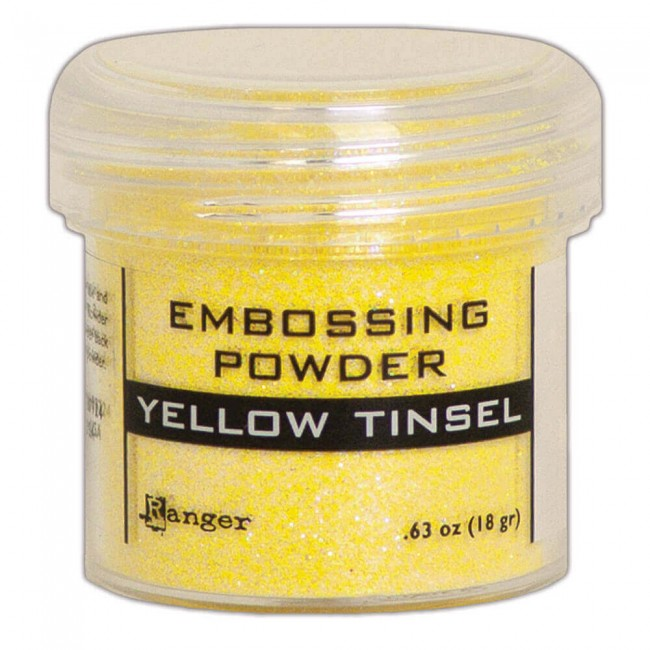 Polvos de Embossing Ranger   Yellow Tinsel