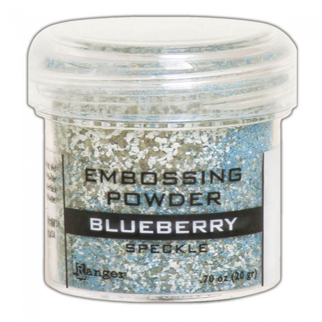Polvos de Embossing Ranger Speckle Blueberry