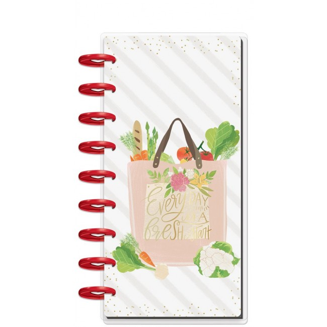 Cuaderno Create 365 Half Sheet Foodie Note Lineas