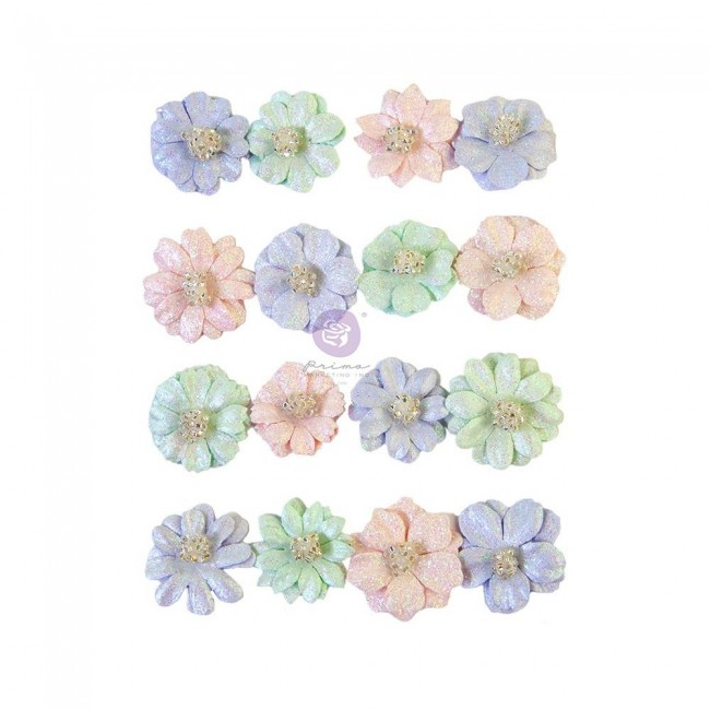 Flores de Papel Watercolor Floral pretty tints
