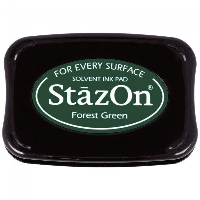 Tinta StazOn Forest Green