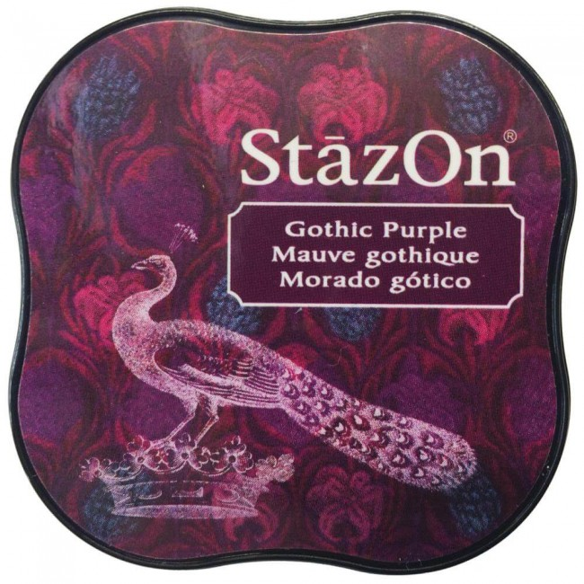 Tinta StazOn Midi Gothic Purple