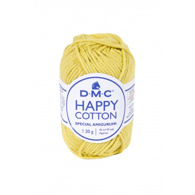 Hilo amigurumis de algodón DMC Happy Cotton 771