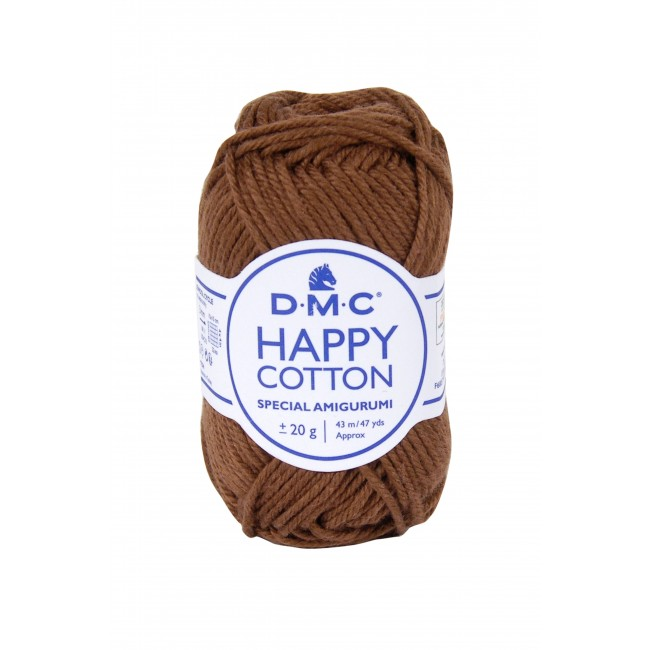 Hilo para amigurumis de algodón DMC Happy Cotton 777