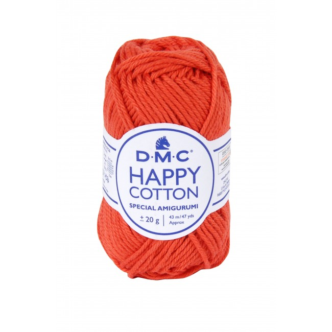 Hilo para amigurumis de algodón DMC Happy Cotton 790