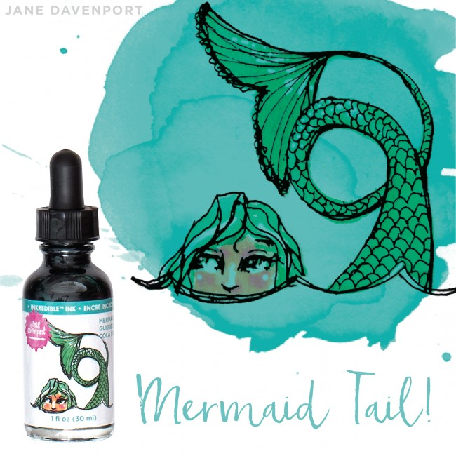 Tinta Inkredible - Mermaid Tail