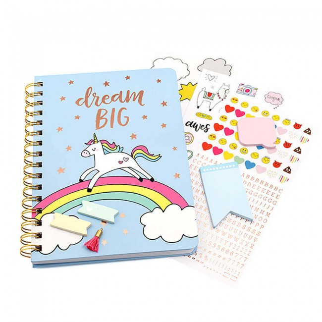 Set de Escritorio Hello Dreamer Unicornio