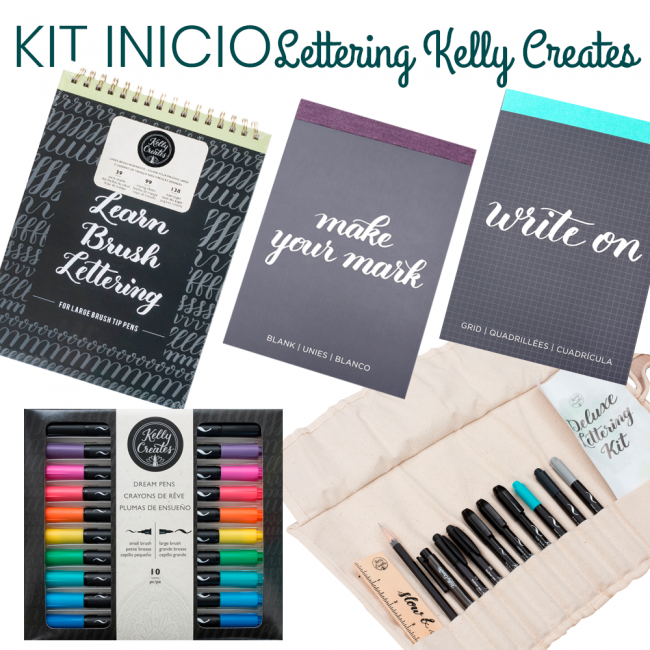 Kit Inicio Lettering Kelly Creates