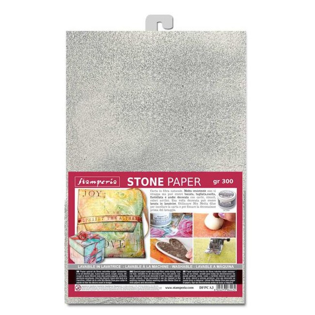 Kit Papel Piedra A4 Alice ST Silver