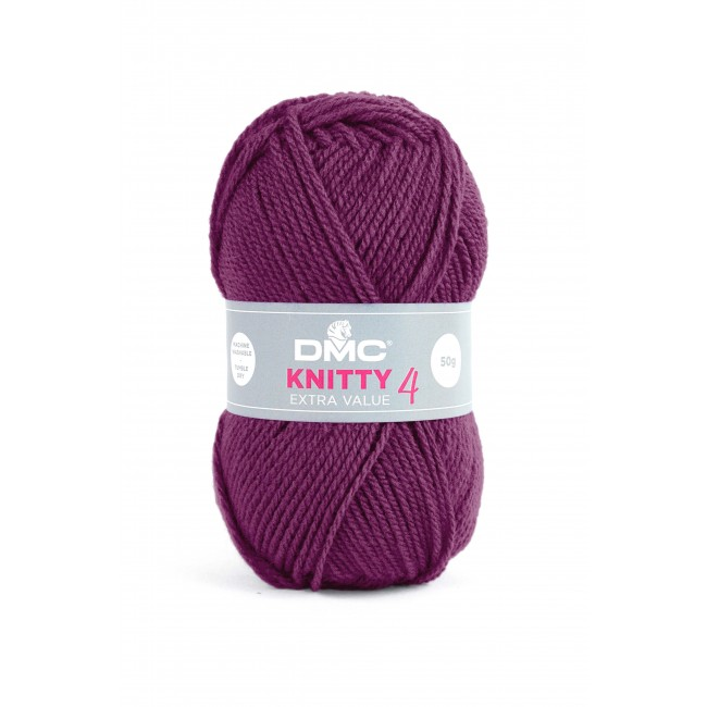 Lana acrílica DMC Knitty 4 Just Knitting 100 g 679