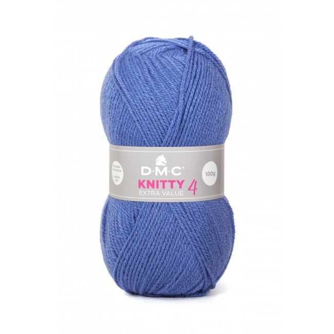 Lana acrílica DMC Knitty 4 Just Knitting 50 g 667