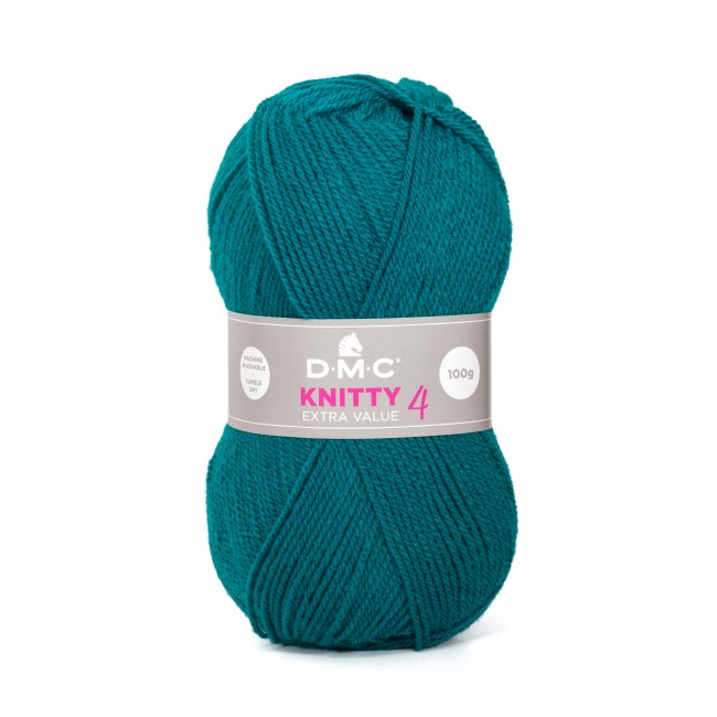 Lana acrílica DMC Knitty 4 Just Knitting 50 g 668