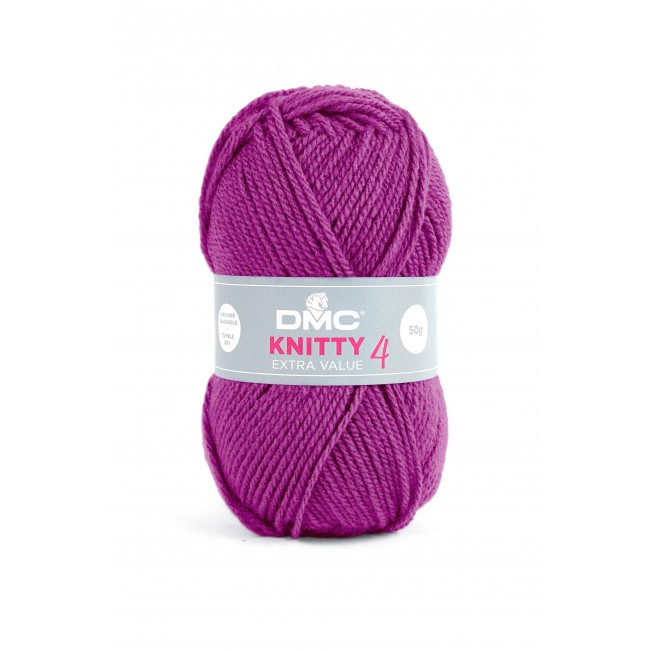 Lana acrílica DMC Knitty 4 Just Knitting 50 g 689