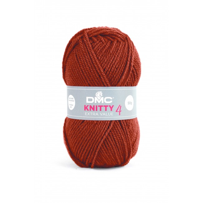 Lana acrílica DMC Knitty 4 Just Knitting 50 g 700